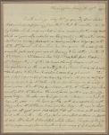 Letter to Mrs. Margaret Bowers, Middletown, Conn.