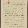 Letter to Thomas Addis Emmet [New York]