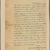 Letter to Johannes Lawyer, Schohary or the Mohawrks Country in the County of Albany