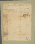 Letter to John Stoddard. Jacob Wendell, Samuel Welles, and Thomas Hutchinson [Boston, Mass.]