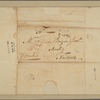 Letter to William Bayard Junr., New York