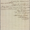 Letter to Nicholas Cooke, Governor of Rhode Island