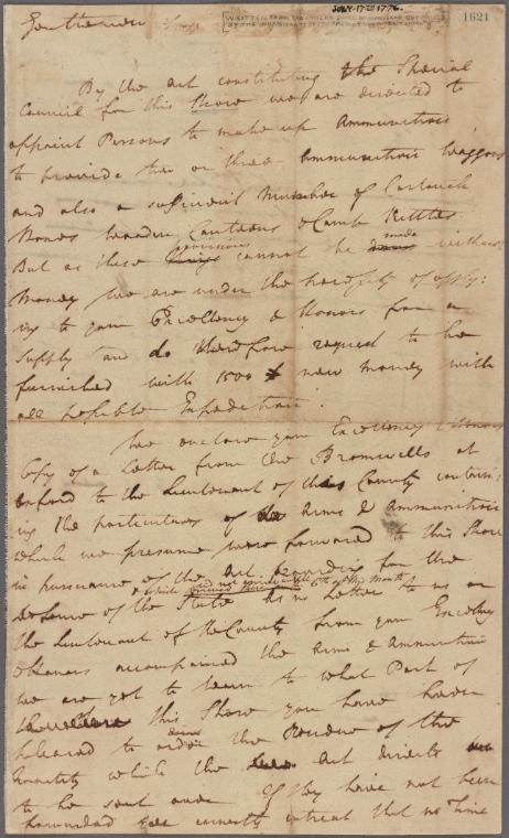 on 7/17/1776