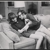 Diane Keaton and Woody Allen in the stage production Play It again, Sam.