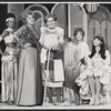 Norma Donaldson, Benay Venuta, and unidentified actors in the stage production A Quarter for the Ladies Room