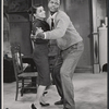 Ruby Dee and Sidney Poitier in the stage production A Raisin in the Sun