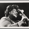 Ella Fitzgerald in the 1962 stage event Salute to the President