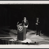John F. Kennedy in the 1962 stage event Salute to the President
