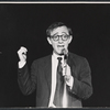 Woody Allen in the 1964 stage event Salute to the President