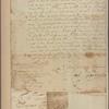 Letter to Benjamin Fletcher, Governor, New York