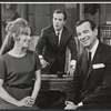 Julie Harris, William Shatner and Walter Matthau in the stage production A Shot in the Dark