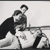 Trish Van Devere, Bob Dishy and George C. Scott in rehearsal for the stage production Sly Fox