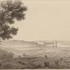25th April 1776. View of Windsor in Nova Scotia