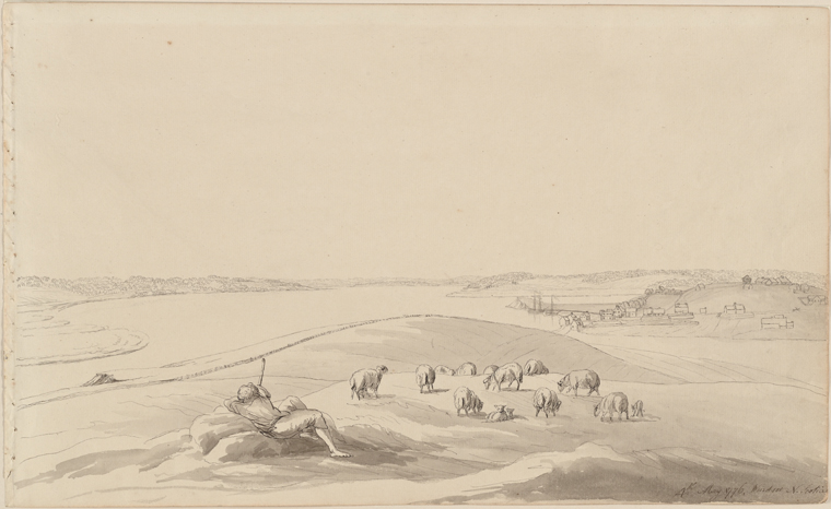 This is What Archibald Robertson and 4th May 1776 Windsor N. Scotia Looked Like  in 1776
