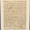 Letter to John Nicholson [Philadelphia?]