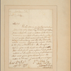 Letter to [Lord Stirling.]
