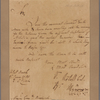 Letter to Major General Riedesel