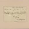 Letter to [Joseph Alston.]