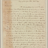 Letter to Mrs. [Elias] Boudinot, Baskinridge [N. J.]