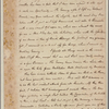Letter to Mrs. [Elias] Boudinot [Baskinridge, N. J.]