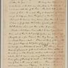 Letter to Mrs. Elias Boudinot [Baskin-ridge, N. J.]
