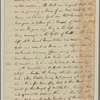 Letter to Mrs. [Elias] Boudinot, Baskin-ridge [N. J.]