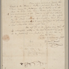 Letter to [Thomas Sim Lee, Annapolis?]