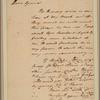 Letter to Gen. [Jethro] Sumner