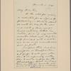 Letter to Capt. Bartow, Com. Mil. Affs.