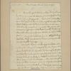 Letter to Gov. [George] Clinton, Poughkeepsie