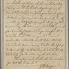Letter to [George Washington?]