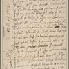 Letter to [Ferdinando] Lord Fairfax