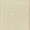 Letter to Andrew Jackson, President of the United States