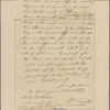 Letter to Capt. Jonathan Deming and Ebenezer Gearey, Colchester [Conn.]