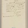 Letter to Maj. Gen. Horatio Gates