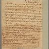 Letter to the Earl of Shelburne