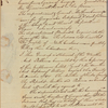 Letter to Gov. Samuel Johnson, Edenton, N. C.
