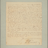 Letter to Robert Carter [Nomini Hall, Va.]