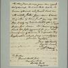 Letter to Horatio Gates, Traveller's Rest, Berkeley Co., Va