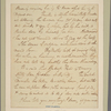 Letter to [Horatio Gates?]
