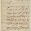 Letter to Gen. [William] Johnson