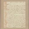 Letter to Gen. [Horatio] Gates [Traveller's Rest, Berkeley Co., Va.]