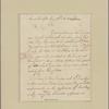 Letter to Maj. Gen. [Benjamin] Lincoln, Purisburgh