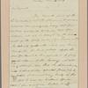 Letter to Gen. James Clinton