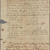 Letter to Governor George Clinton
