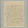 Letter to [Horatio Gates, Traveller's Rest, Berkeley Co., Va.]