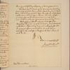 Letter to Gov. --James] Hamilton [Philadelphia]