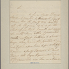 Letter to Col. [Nisbet] Balfour, Charlestown
