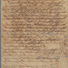 Letter to Henry Laurens [Charleston, S. C.]