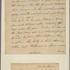 Letter to Lieut. Col. [Aaron] Burr, Comm'g the Advanced Posts, White Plains